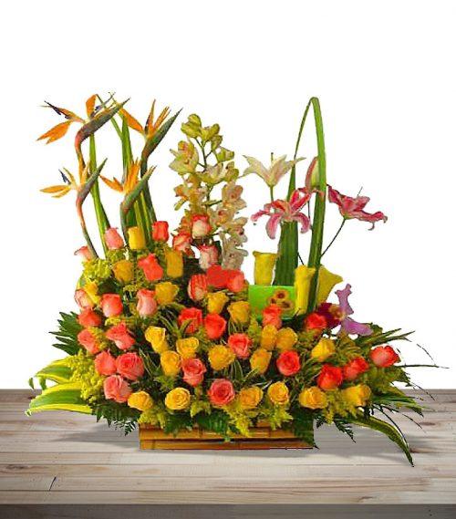 ramos de flores en cali