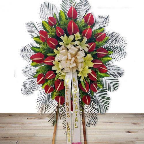 ramos de flores funebre en cali